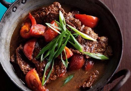 آموزش طرز تهیه خوراک گوشت با سس سویا