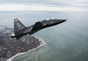 سقوط جت آموزشی نیروی هوایی آمریکا در تگزاس