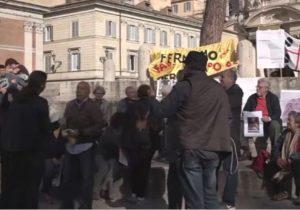 تجمع ضد سعودی در رم