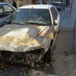 عامل آتش سوزي عمدي خودروهادستگیر شد
