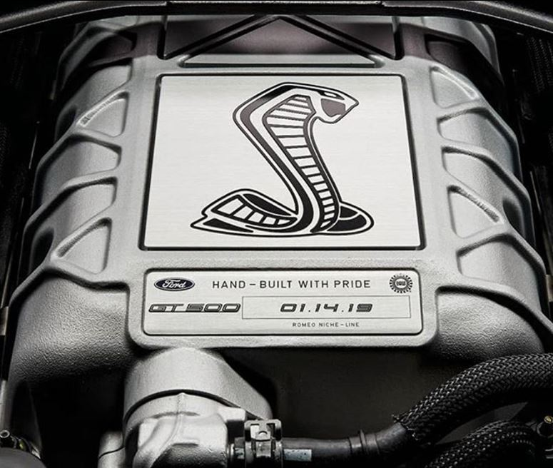 انتشار تصویری از موتور مدل 2020 فورد موستانگ شلبی GT500