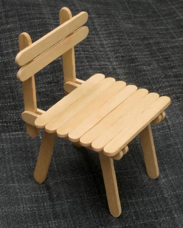 کاردستی با چوب خلاقانه