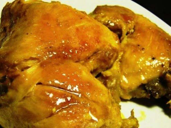 طرز تهیه مرغ زعفرانی